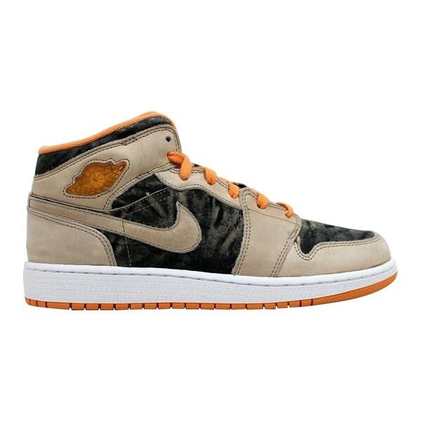 bb56da51eb2d20 Shop Nike Air Jordan 1 Birch Light Melon-Black 322678-281 Grade ...