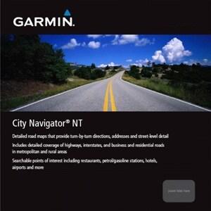 Garmin City Navigator Europe NT Navigational Software for UK/Ireland