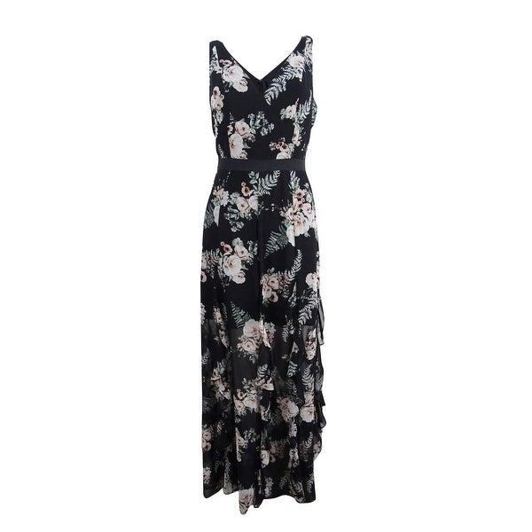 4d22e9054c8 Shop BCBGeneration Women s Floral-Print Ruffled Maxi Dress (2