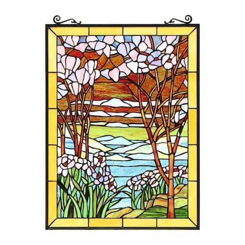 Landscape Design Window Panel/ Suncatcher