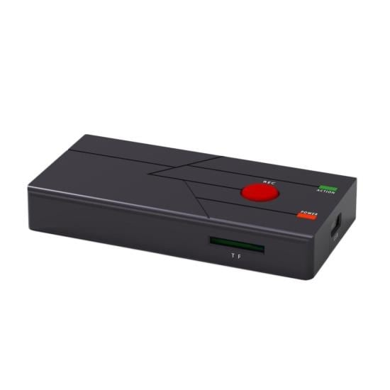 External Capture Card Video Recorder - TV & Video Recording System, Plug-and-Play PC Computer Record Ability