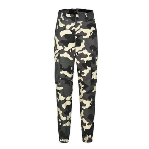 Women's Overalls Camouflage Pants Casual Pants