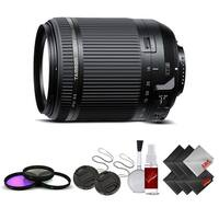 Tamron 18-200 f/3.5-6.3 Di II VC for Nikon International Version (No Warranty) Base Kit - Black