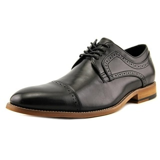Stacy Adams Dickinson Men Cap Toe Leather Black Oxford