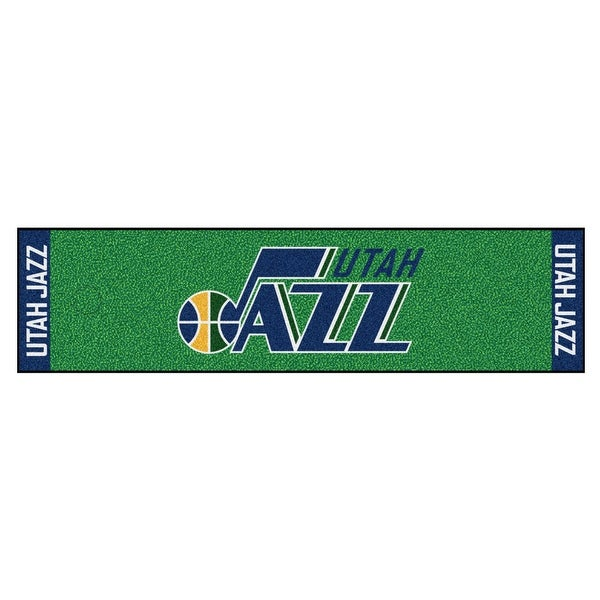 0a261d3139ad Shop NBA Utah Jazz Putting Green Mat Golf Accessory - Free Shipping ...