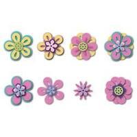 Flowers #3; 11/Pkg - Sizzix Triplits Dies By Stephanie Barnard