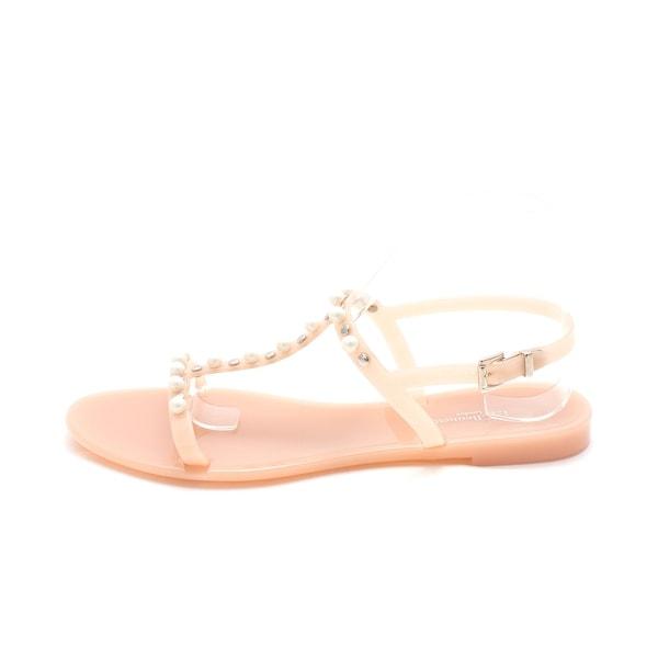L.K. Bennett Womens Freja Open Toe Casual T-Strap Sandals - 10.5