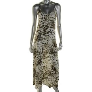 Felicite Womens Maxi Dress Aztec Print Casual