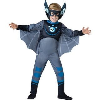 Boys Wild Kratts Blue Bat Costume (3 options available)