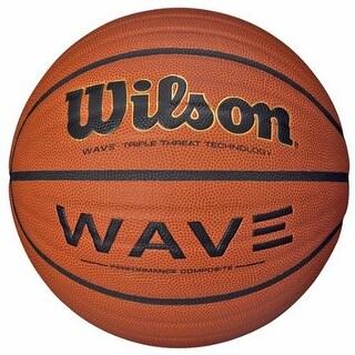 Wilson NCAA Wave Microfiber Composite Basketball, 29,5 - Inch, Orange