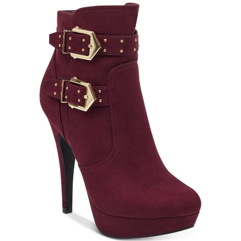 G by Guess Womens Dalli2 Round Toe Ankle Fashion Boots