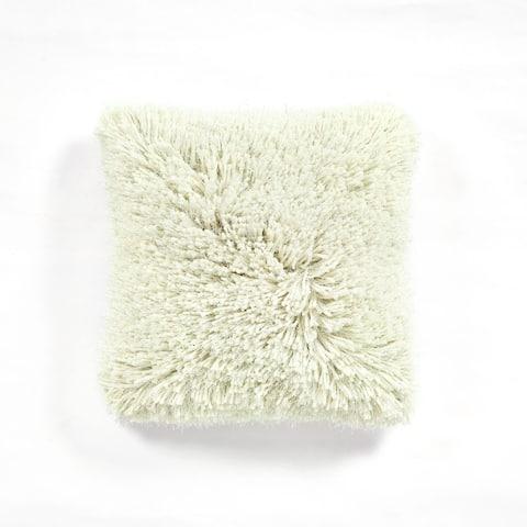 Lush Decor Shaggy Fur Decorative Pillow Cover