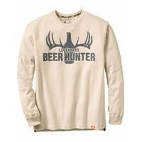 Legendary Whitetails Men's Legendary Beer Hunter Long Sleeve Tee