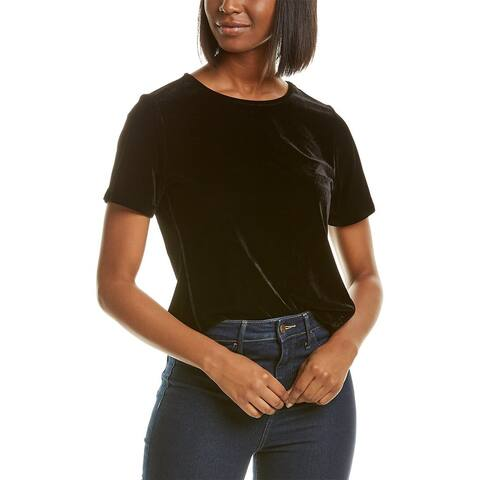 Donna Karan Velvet Top