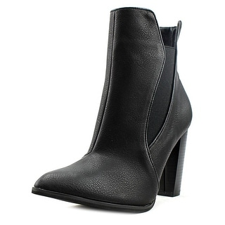 Penny Loves Kenny Avant   Pointed Toe Synthetic  Ankle Boot
