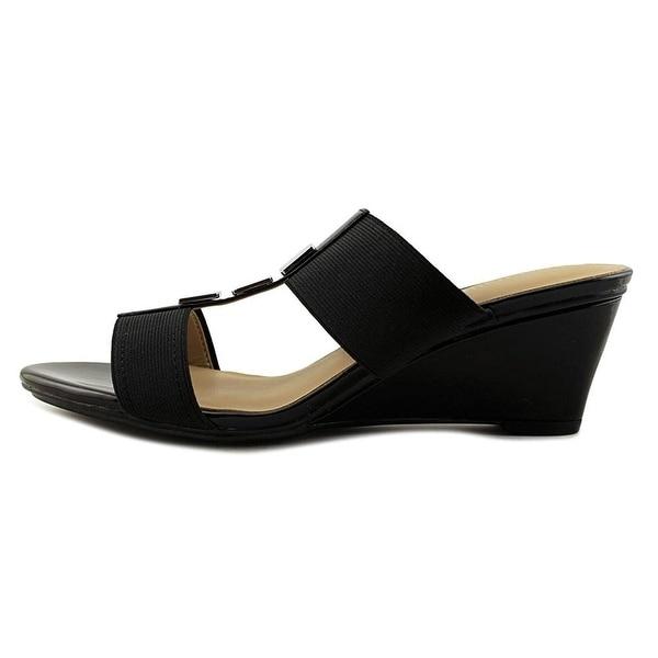 Naturalizer Womens Hayden Open Toe Casual Slide Sandals