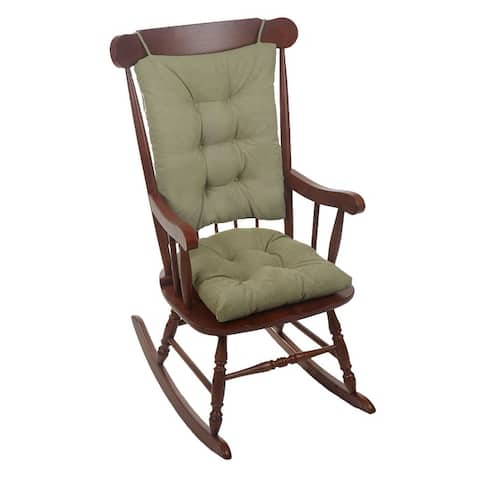 Gripper Twillo Jumbo Rocking Chair Cushion Set