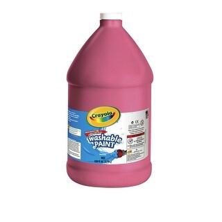 Crayola Tempera Paint, 1 gal Bottle, Red
