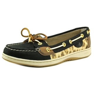 Sperry Top Sider Angelfish Women Moc Toe Leather Boat Shoe