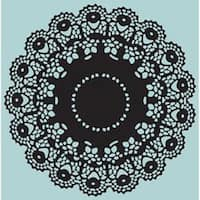 Doily By Tim Holtz - Sizzix Texture Fades A2 Embossing Folders
