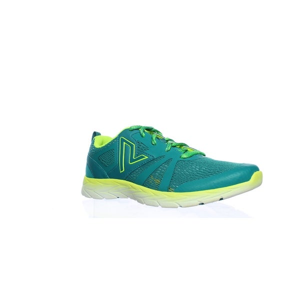 bc632fd49 Shop Vionic Womens Brisk Miles Teal Yellow Running Shoes Size 6 ...