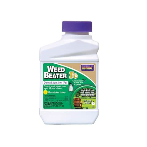 Bonide 323 Weed Beater Fe Concentrate Lawn Weed Killer, 16 Oz
