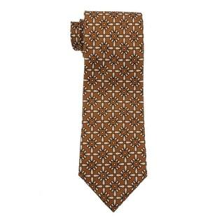 Vera Bradley Mens Latte Silk Classic Neck Tie - o/s
