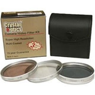Sakar Crystal Optics 58Mm Multi Coated Photo-Video 3-Filter Kit
