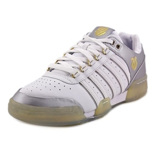 K-Swiss Gstaad Women Round Toe Leather White Tennis Shoe