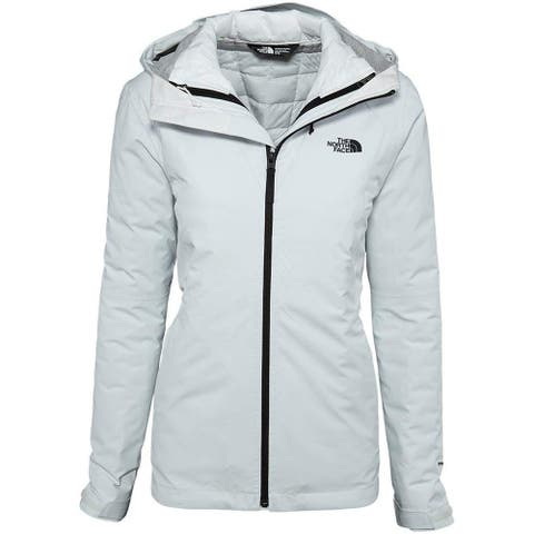 The North Face NF0A2TDK-FN4: Women's Thermoball Triclimate Jacket ,White,M
