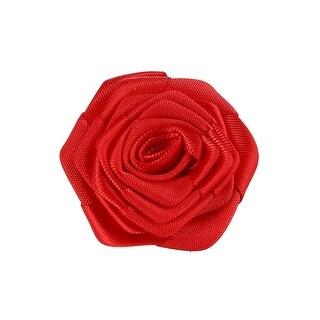 Umo Lorenzo Carnation Boutonniere Lapel Pin - Red - One size