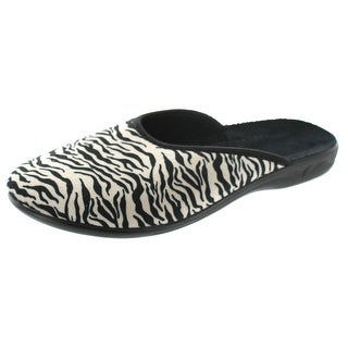 Sc Home Collection Womens Closed Toe Animal Print Slippers