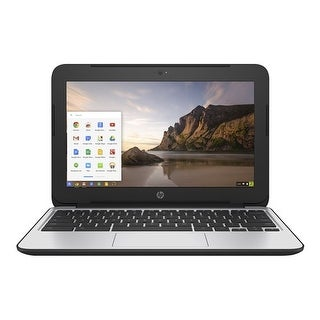 HP V2W30UT Chromebook PC 11 G4 Notebook w/ Intel Celeron N2840 2.16 GHz Processor & 16 GB eMMC
