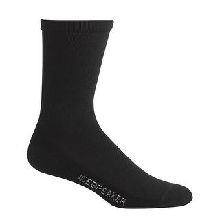 Icebreaker 2015/16 Women's Lifestyle Light Crew Socks - IBN313 - Black
