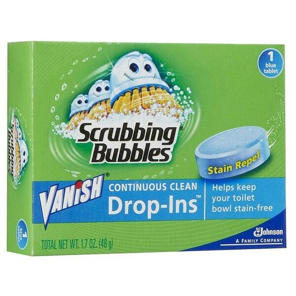 Shop Scrubbing Bubbles 00191 Vanish Drop Ins Toilet Bowl