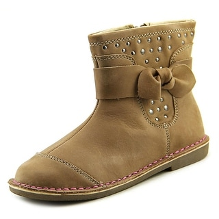 Stride Rite Medallion Collection Juniper Round Toe Leather Bootie
