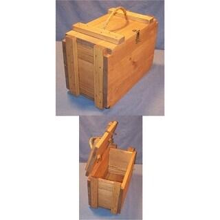 Charlies Woodshop W-2641 Functional Wooden Furniture Ammunition Box