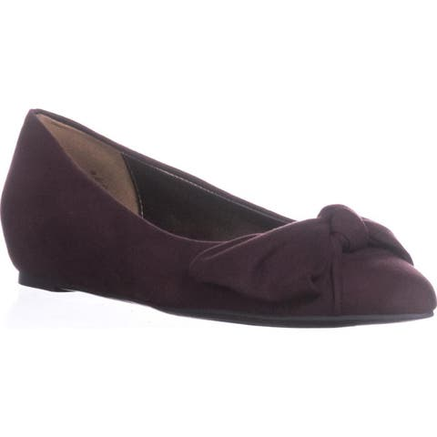 Bandolino Ressie Knot Wedge Pumps, Wine