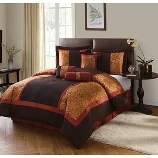 Link to Grand Avenue Hermonie 7-piece Bedding Comforter Set Similar Items in Comforter Sets