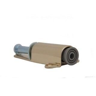 "Ives FS1154 Heavy Duty Cast Brass or Bronze Plunger Type Door Holder 5 1/2"" Height 1 1/4"" Throw"
