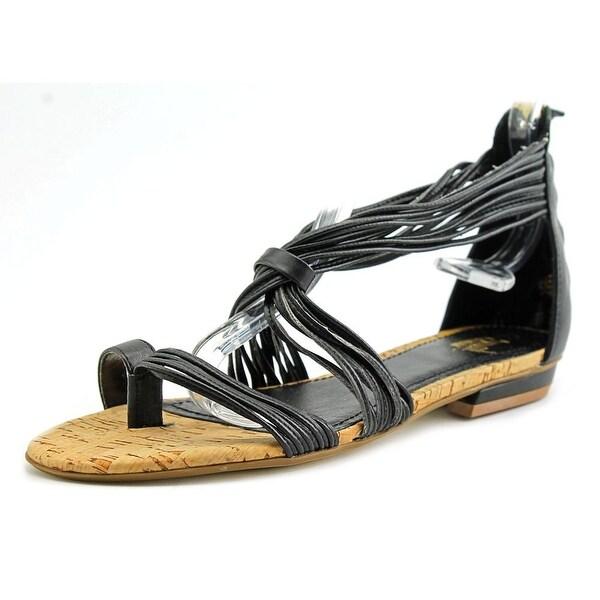 Hollywood Milano Tropez Women Open Toe Synthetic Black Gladiator Sandal