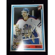 Signed Sillinger Mike Regina Pats 1991 7th Inning Sketch Hockey Card autographed
