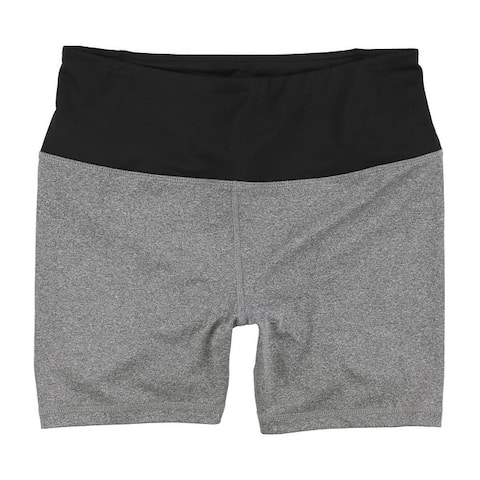 Reebok Womens Fitted Highrise Athletic Compression Shorts