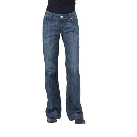 Stetson Western Jeans Womens Trouser Flare Denim