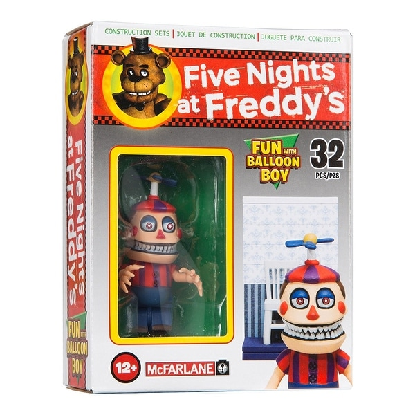 Five Nights At Freddy's Construction Set Fun With Balloon Boy Micro Set - Multi