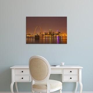 Easy Art Prints Chuck Haney's 'St Louis' Premium Canvas Art