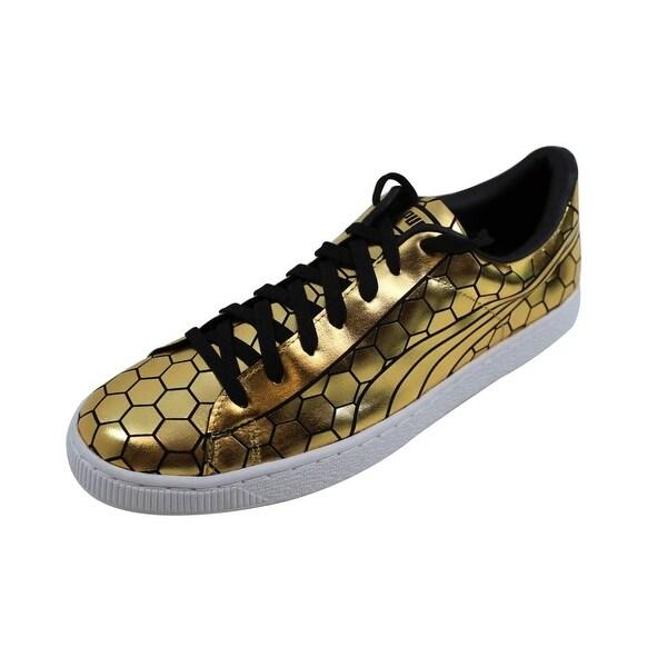 new style deec5 2d147 Puma Men  x27 s Basket Classic Metallic Gold nan 361102 01