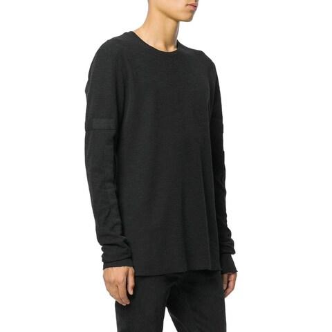 Thom Krom Thom/Krom Men's Long Sleeve Sweatshirt Large L Jumper Black