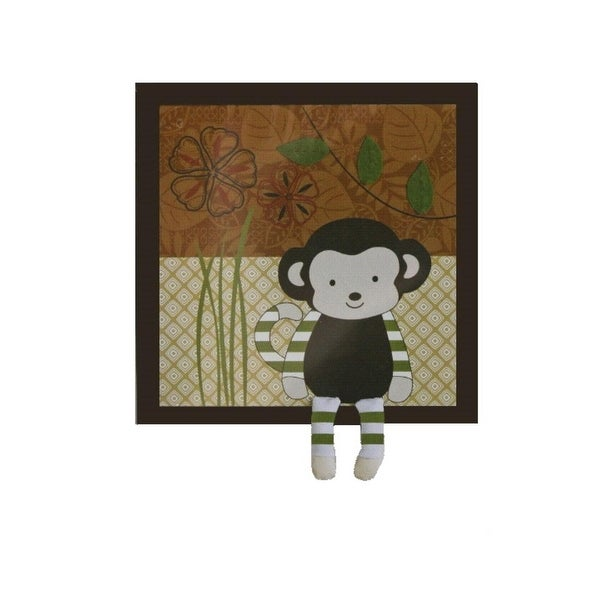CoCaLo Baby Nali Jungle Monkey Wall Decor Applique Baby Boy