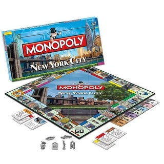 Monopoly New York City Collectors Edition Board Game